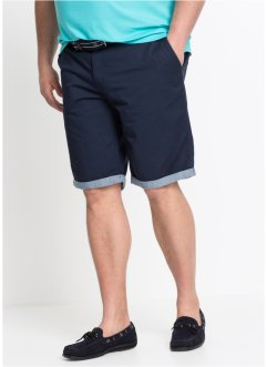 Bermudashorts i chinosmodell med uppvikta benslut, normal passform, bpc bonprix collection