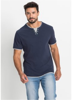 T-shirt 2 i 1-look regular fit, bpc bonprix collection