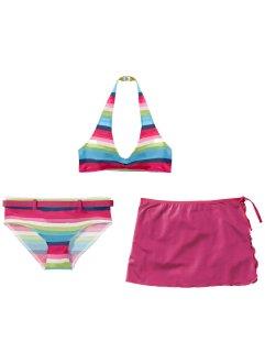33cc433d4345 Bikini + kjol för flickor (3 delar), bpc bonprix collection