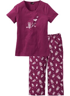 Kortärmad capripyjamas, bpc bonprix collection