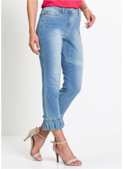 7/8-stretchjeans med rysch, bpc selection