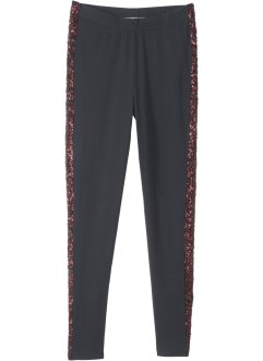 Leggings med paljettinfällning, bpc bonprix collection