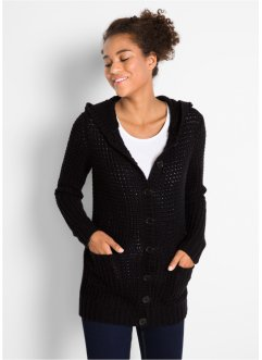 Cardigan med luva, bpc bonprix collection