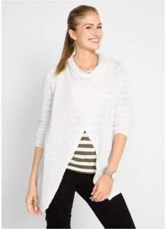 Stickad cardigan med struktur, bpc bonprix collection