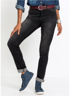 Formande stretchjeans, smal passform, John Baner JEANSWEAR