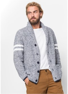 Cardigan med sjalkrage, normal passform, bpc bonprix collection