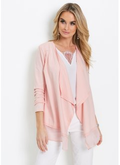 Cardigan med chiffong, bpc selection