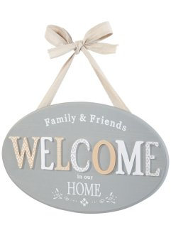 "Prydnadsskylt ""Welcome"", bpc living"