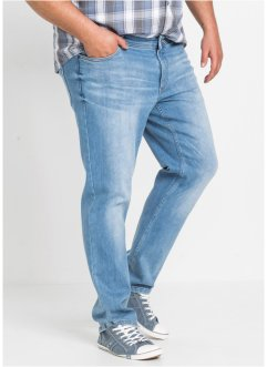 Jeans i powerstretch med speciellt skuret magparti, bpc bonprix collection