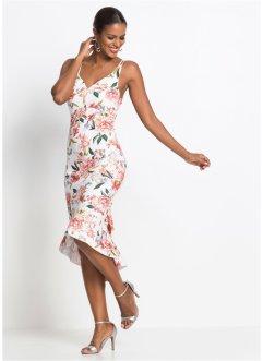 4a5d45d45264 Midiklänning med blommönster, BODYFLIRT boutique