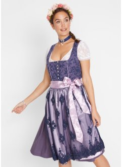 Dirndl med hjärtformad ringning, bpc bonprix collection