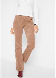 Manchesterbyxa i stretch, bootcut, bpc bonprix collection