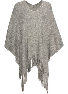 Poncho med pärlor, bpc bonprix collection