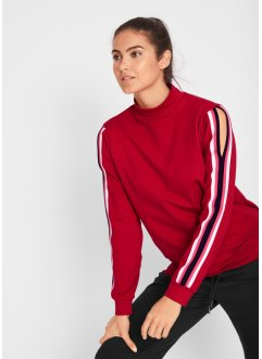 Maite Kelly-sweatshirt med cut-outs, långärmad, bpc bonprix collection
