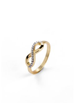 Ring med Swarovski® kristaller, bpc bonprix collection