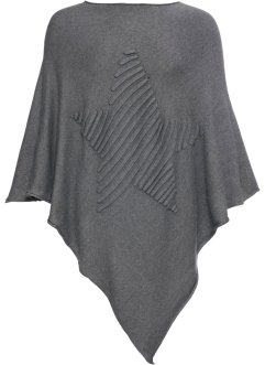 Poncho med stjärnor, bpc bonprix collection