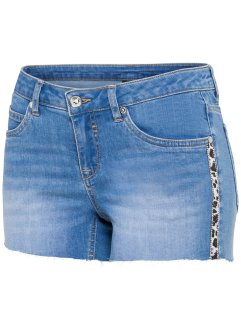 Jeansshorts med applikation, BODYFLIRT