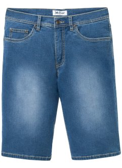 Mjuka jeansbermudas i stretch, normal passform, John Baner JEANSWEAR