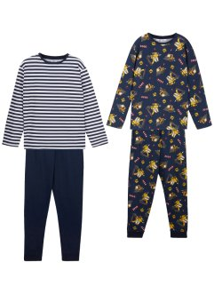 Pojkpyjamas (2-pack), bpc bonprix collection
