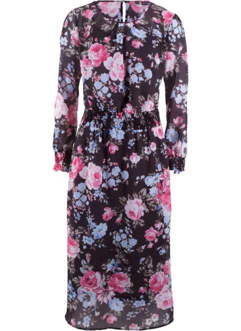 Blommig klänning ǀ Köp blommiga klänningar på bonprix 18c9c5227f425