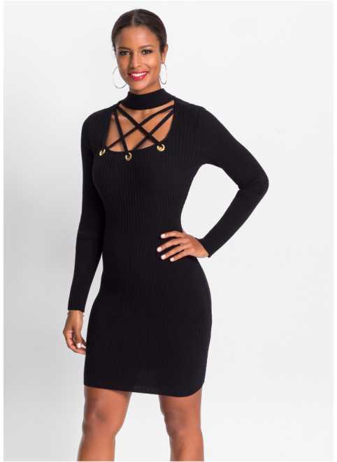 Stickade klänningar - Klänningar - Mode - Dam - bonprix.se 4e70a532ee8ba