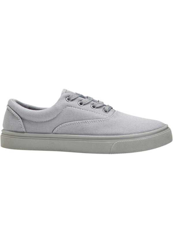 Sneakers gråmelerad Dam bonprix.se