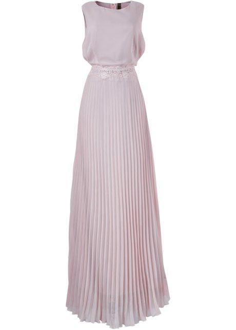 Plisserad klänning syren - BODYFLIRT boutique - bonprix.se 6b0d6e6ba908f