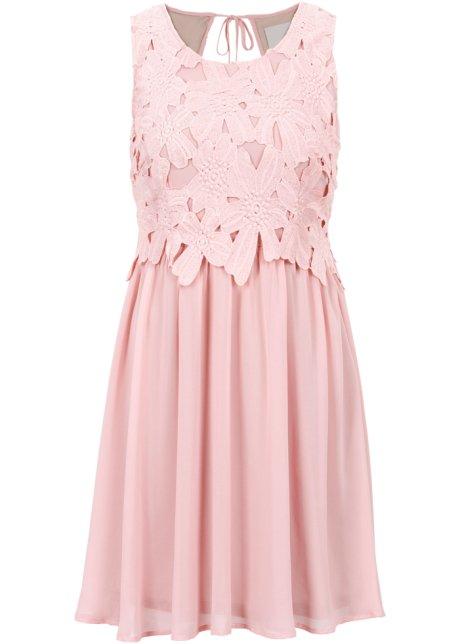 Klänning rosa - BODYFLIRT boutique - bonprix.se a6a3f5a6e5597