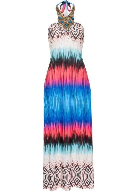 22c6ed97ac15 Färgglad klänning blå - BODYFLIRT boutique köp online - bonprix.se