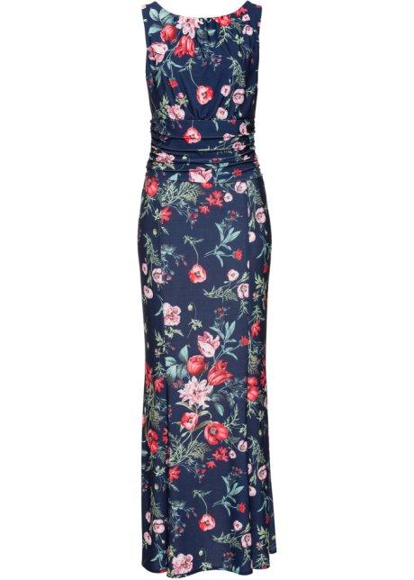 a7c6b248ec3c Klänning med blommönster blå, blommig - BODYFLIRT boutique köp ...