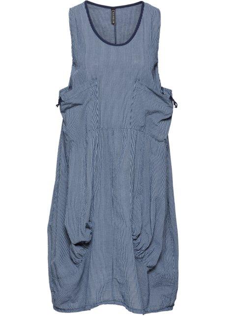 cd01303d3fcf Ballongklänning blå, randig - RAINBOW köp online - bonprix.se