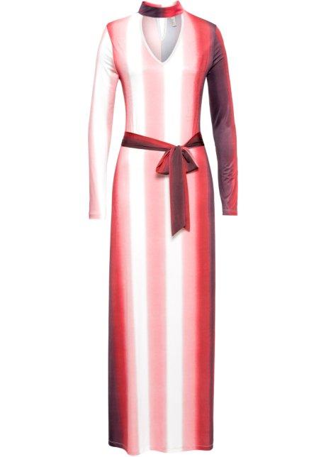 Mönstrad klänning röd vit d0eafc014795e