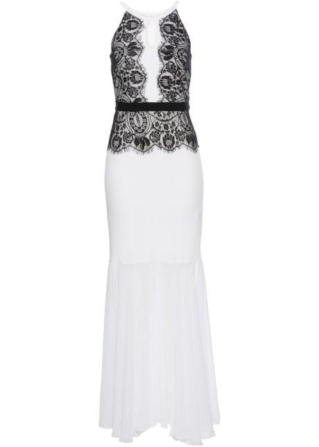 Aftonklänning svart vit - BODYFLIRT boutique beställa online ... 67eafad4f34b4