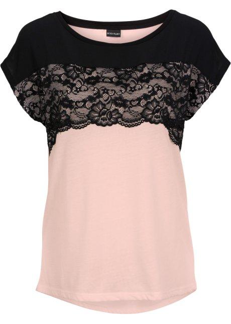 Fodralklänning svartgammaldags rosa Dam bonprix.se