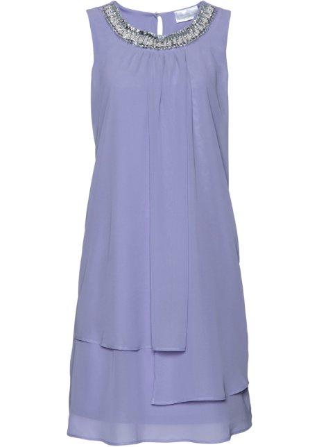 Klänning med applikation ljus lavendel - bpc selection premium köp ... fdc42daf403bf