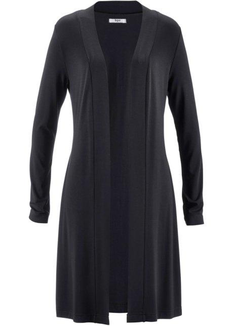 a0a133db6ed4 Lång blusjacka svart - bpc bonprix collection köp online - bonprix.se