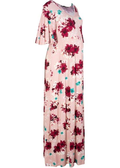 141a15930c21 Lång mammaklänning rosé, blommig - bpc bonprix collection köp online ...