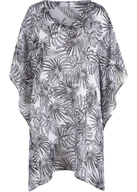 b594cd72a632 Strandklänning vit/svart, mönstrad - bpc selection köp online ...