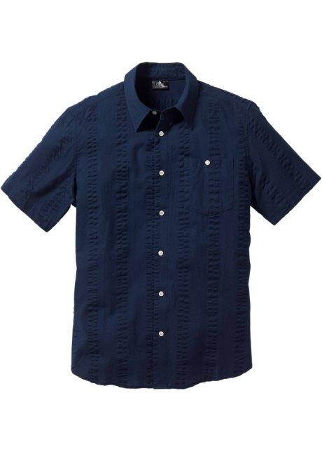 Kortärmad skjorta i bäckebölja