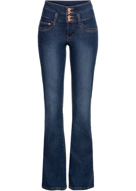 bootcut jeans med hög midja