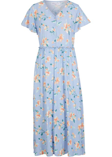 Blommig klänning – designad av Maite Kelly