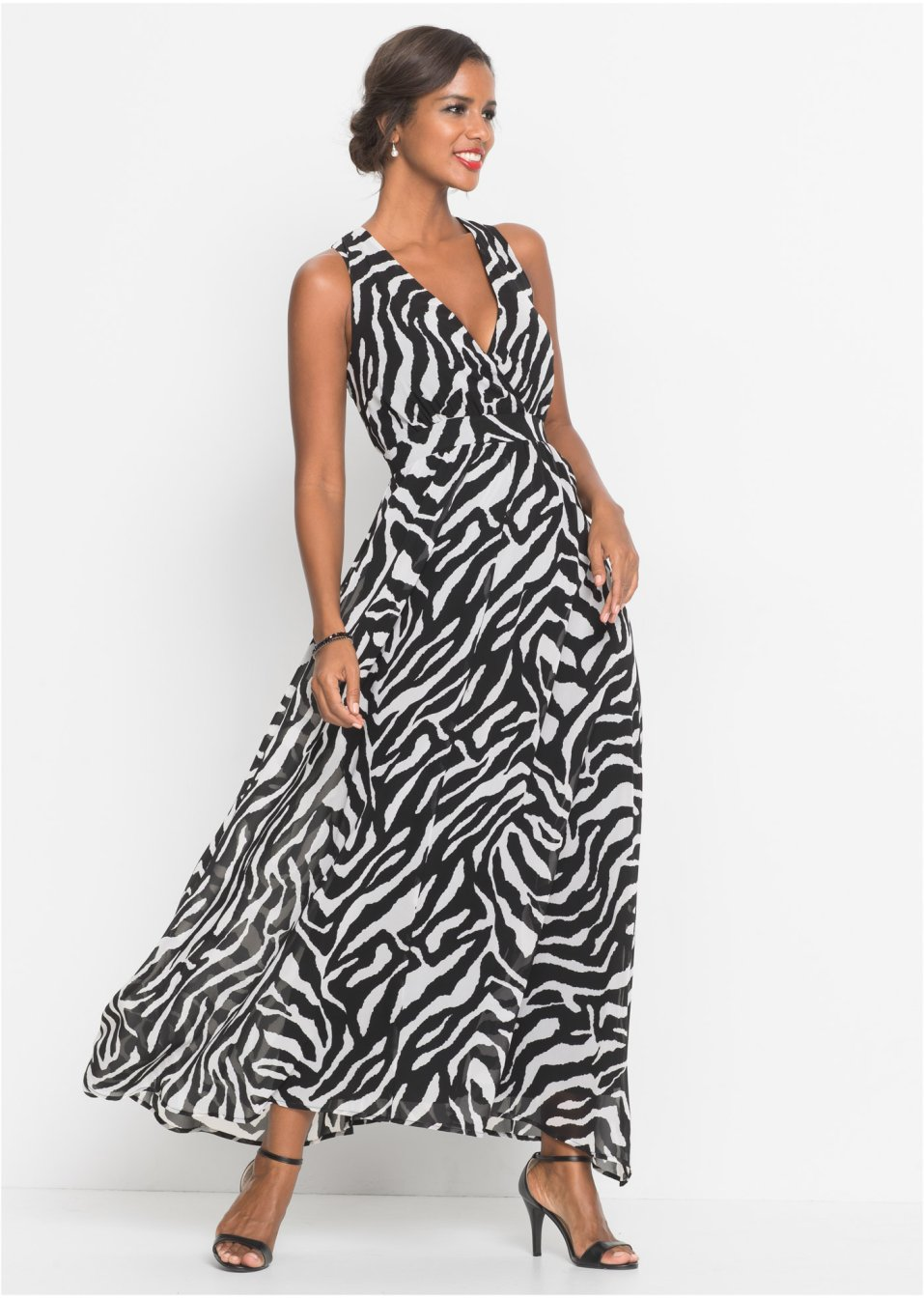 Aftonklänning svart vit 538c87dc7e835