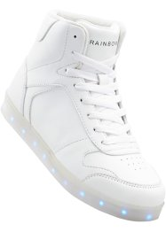 Sneakers med LED-sulor, RAINBOW