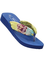 Flip-flops, bpc bonprix collection, ljus citron/midnattsblå