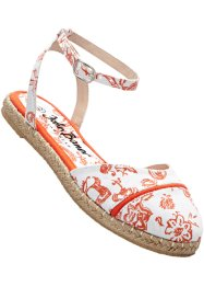 Espadrillos, bpc bonprix collection, vit/nektatrin