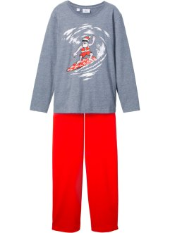Pyjamas med julmotiv (2 delar), bpc bonprix collection