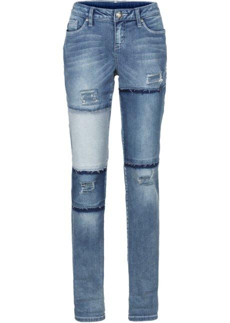 Bonprix SE - Jeans i boyfriendmodell, lappat utseende 229.00