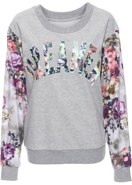 Bonprix SE - Sweatshirt med blommönster 279.00