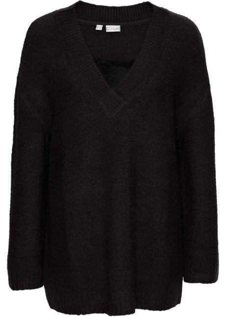 Bonprix SE - Stickad tröja med spets 99.00