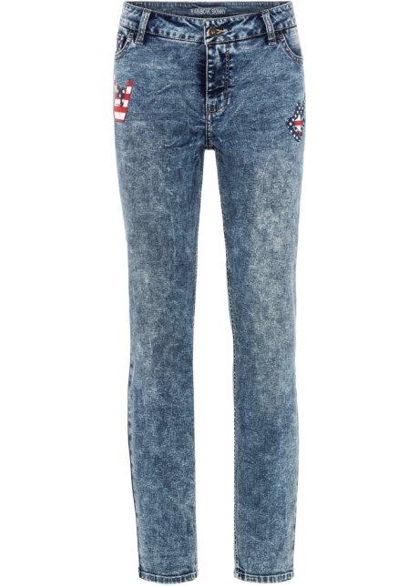 Bonprix SE - Skinny jeans med tryck 159.00